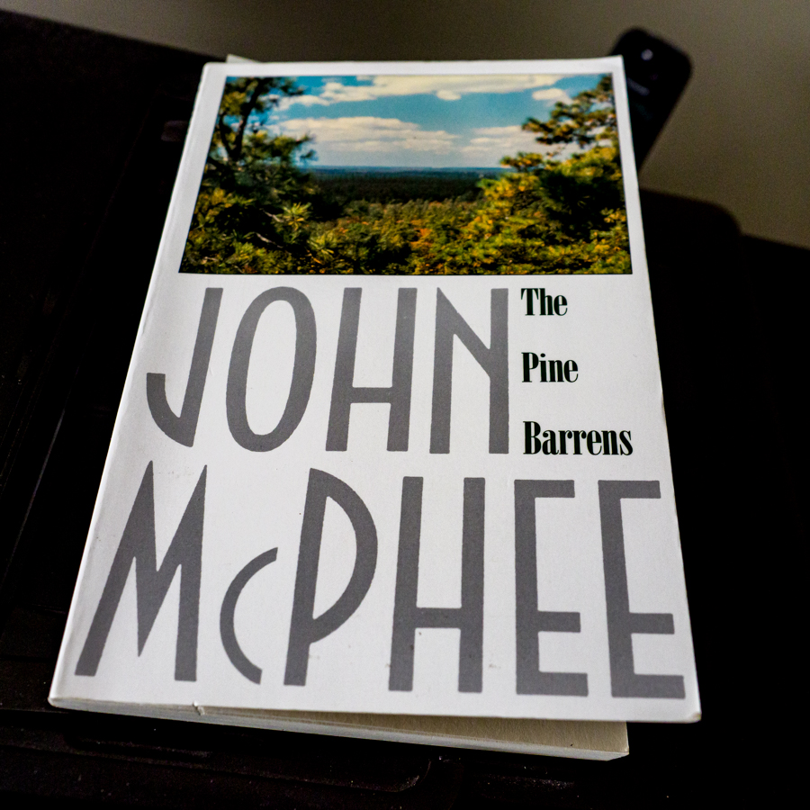 John McPhee's book on the Pinelands